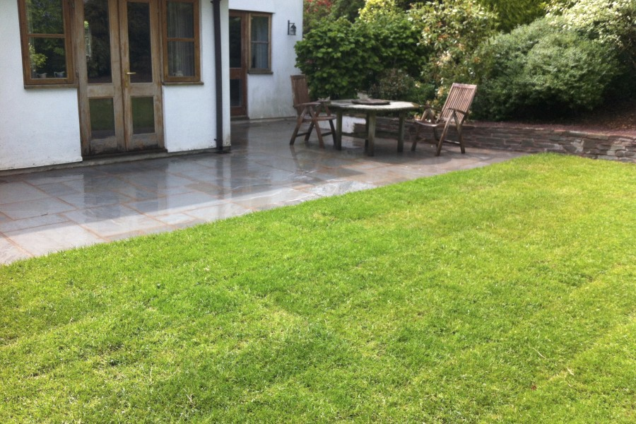 Landscape Gardening in Longtown, Herefordshire