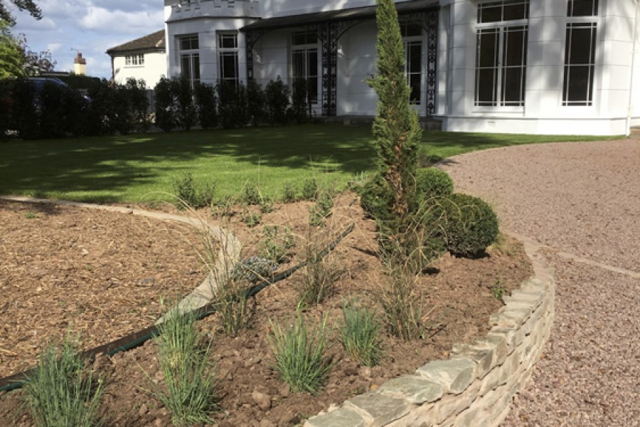 Driveway & Front Garden in Hereford