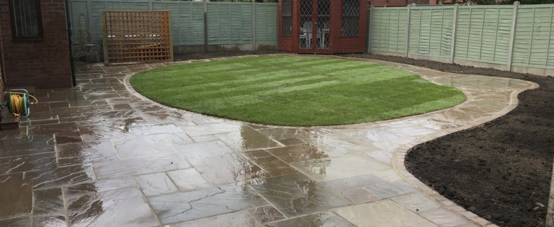 Garden Renovation in Hereford