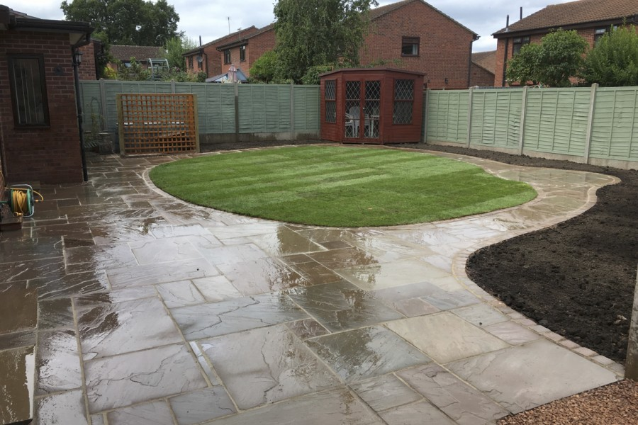 Garden Renovation in Hereford